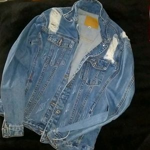 Fashion nova baggy jean jacket